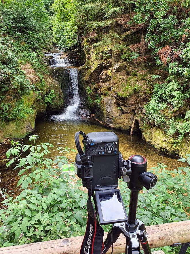 Am Geroldsauer Wasserfall