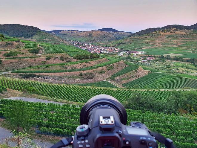 Weinhänge am Kaiserstuhl