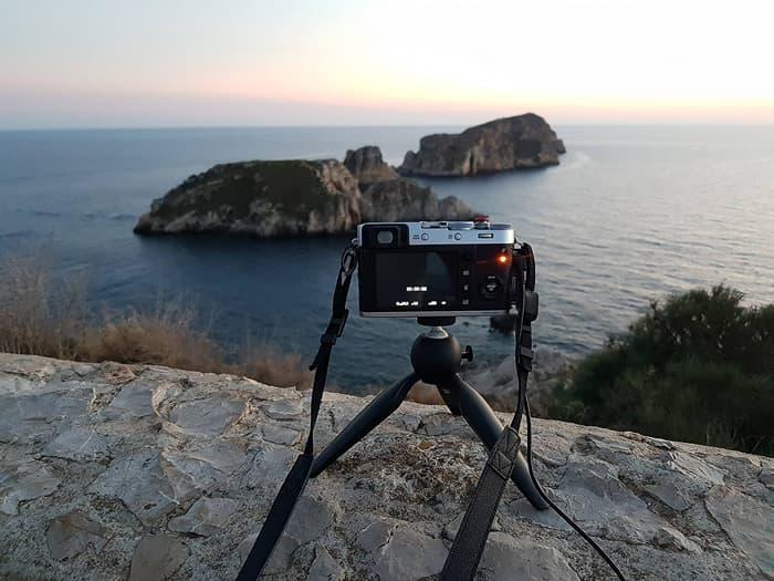 Tischstativ Manfrotto Pixi auf Mallorca