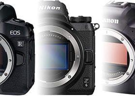 Vollformat Systemkameras Mittelklasse Vergleich: Sony Alpha 7 III vs. Nikon Z6 vs. Nikon Z6 II vs. Canon EOS R vs. Canon EOS R6