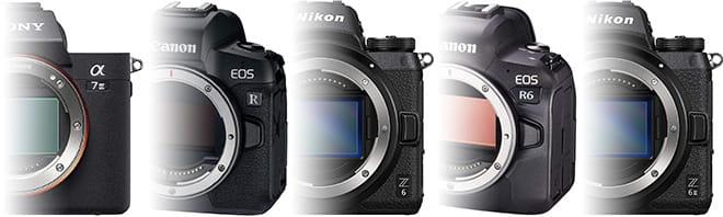 Vollformat Systemkameras Mittelklasse Vergleich: Sony Alpha 7 III vs. Nikon Z 6II vs. Canon EOS R6