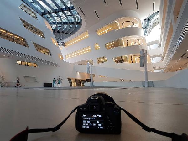 Das Gebäude der Wirtschaftsuniversität in Wien